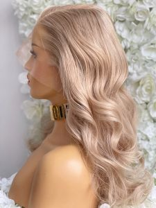 LILY, LIGHT BLONDE HAIR, CUSTOM DELUXE LACE WIG