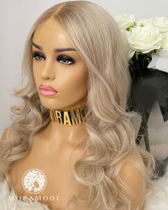 ABBY, LIGHT GOLDEN BLONDE, CUSTOM DELUXE LACE WIG