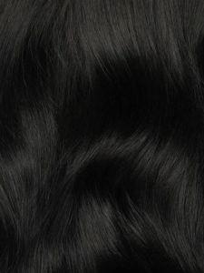 Jet Black, Seamless Hair Extensions