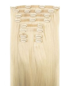 Pearl Blonde, Seamless Hair Extensions
