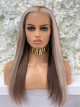 BLONDE HUMAN HAIR FULL LACE WIG , READY TO SHIP