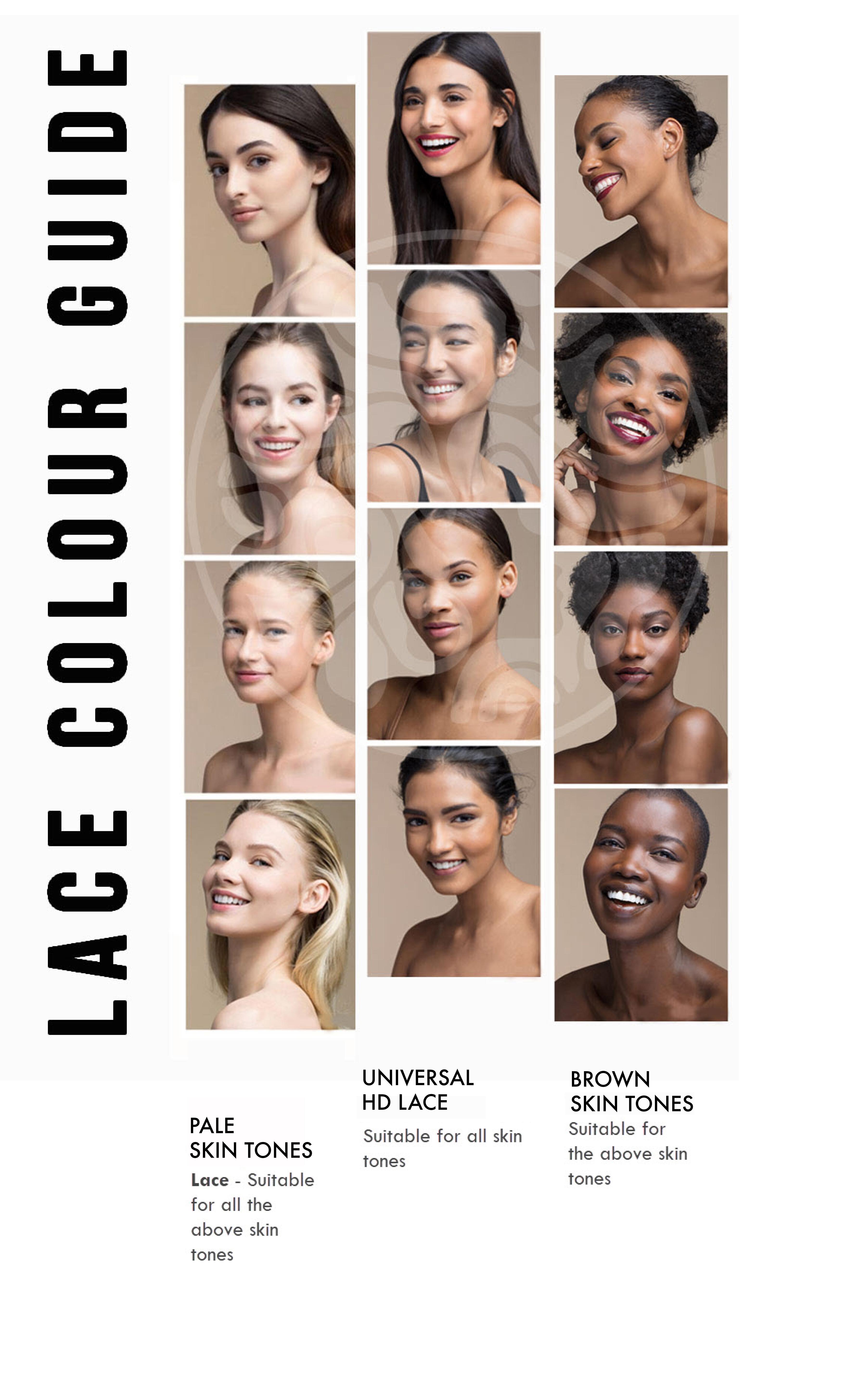 Mora Mode Lace Colour Guide